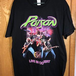 Poison Live in Concert 2017 Tour T-Shirt